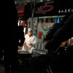 Shenyang / City / Night market, marchŽ de nuit